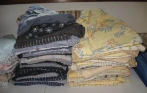 Gray and Yellow shirts